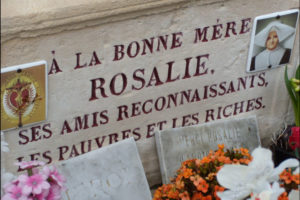 Grave of Bl Rosalie