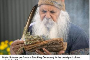 smoking ceremony Hutt St opening